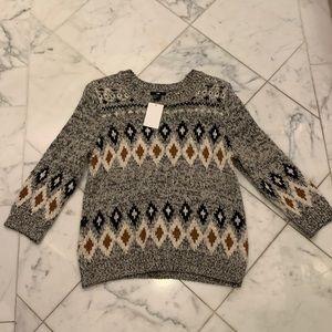 H&M Vintage Style Sweater